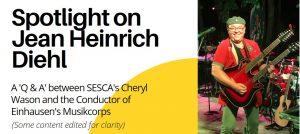 SESCA interviewt Jean Heinrich Diehl